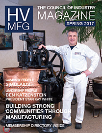 HV Mfg magazine Spring 2017 issue - cover